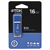 TDK USB 2.0 Flash Drive 16GB - Blue