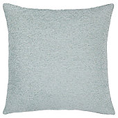 Plain Chenille Cushion, Eau De Nil