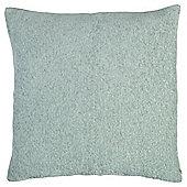 Plain Chenille Cushion, Eau De Nil