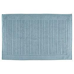 Tesco Luxury Towelling Bath Mat Marine Blue