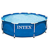 "Intex Metal Frame Pool 10ft x 30"" No Pump - 28200"