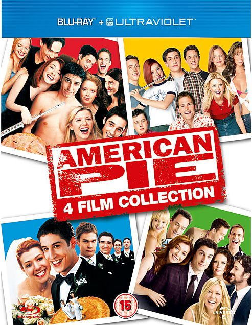 American Pie 1, 2, 3 And Reunion Blu-Ray Boxset With Uv