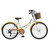 Dawes L'il Duchess Orange 24 Inch Kids Traditional Bike