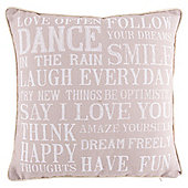 Pink Dance In The Rain Cushion