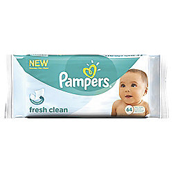 Pampers Baby Wipes 64Pk