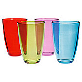 Tesco Brights Tumbler Glasses, 4 Pack