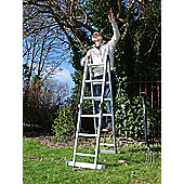 Trade MultiWay Adjustable Ladder (4x3)
