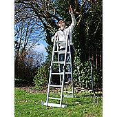 Trade MultiWay Adjustable Ladder (4x3)