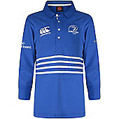 Canterbury Leinster Rugby Home Classic Ladies L/S Rugby Jersey - Blue