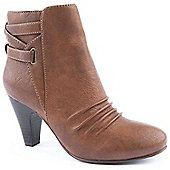 Emilio Luca X Ladies Tri Brown Ankle Boot