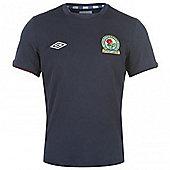 2012-13 Blackburn Away Umbro Football Shirt - Black