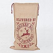 Reindeer Mail Santa Sack