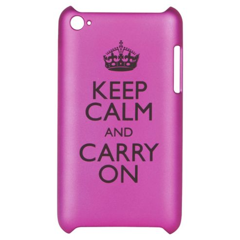 Keep Calm Carry on Pink Bliss Case
