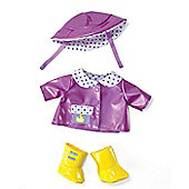 Rainy Day Outfit for Baby Stella by Manhattan Toys