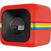 Polaroid Cube Lifestyle Action Camera Wifi - Red