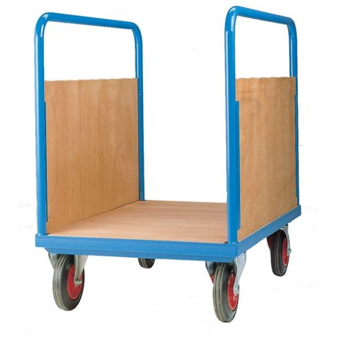 Long Goods Platform Truck 1000x700mm Double Sided Plywood