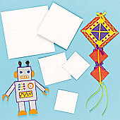 Kids Crafts Square Card Blanks (Pack of 10)
