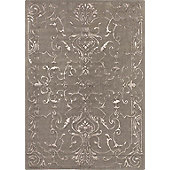 Angelo Sydney Mole Knotted Rug - 300cm x 200cm (9 ft 10 in x 6 ft 6.5 in)