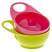 Brother Max 2 Easy-Hold Bowls (Pink/Green)