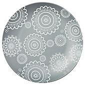 Tesco Christmas Lace Side Plate