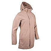 Newquay Womens Long Jacket - Beige