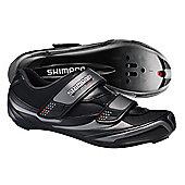 Shimano R064 Road SPD Shoes Black - Black