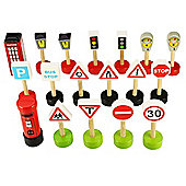 Bigjigs Road BJR053 Signs Pack