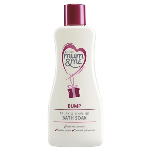 Mum & Me Bump Relax & Unwind Bath Soak 300ml