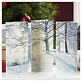 Tesco Winter Scenes Christmas Cards, 24 Pack