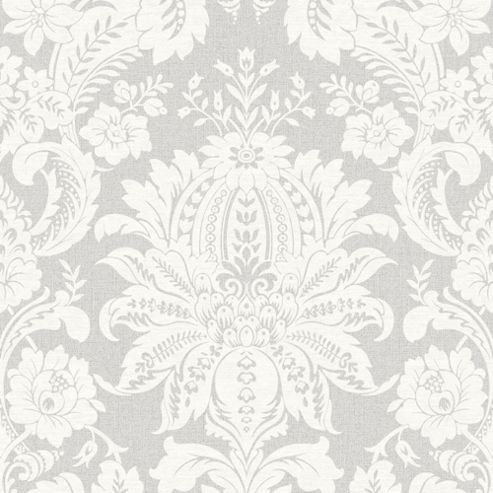 buy superfresco easy venetian paste the wall damask grey