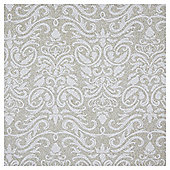 Luxury Flitter Damask Christmas Wrapping Paper, 3m
