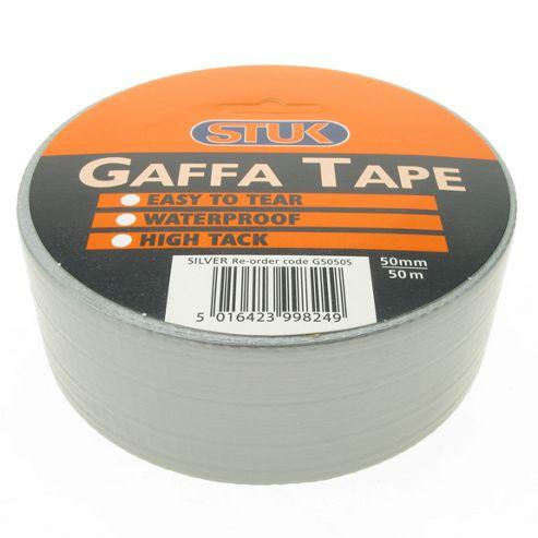 Gaffa Tape Silver 50mm x 50m