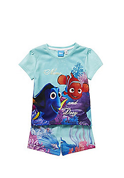 Disney Finding Dory Shorts Pyjamas - Blue