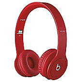 Beats By Dr Dre Solo Hd Over-the-ear overhead headphones , Monochromatic Red