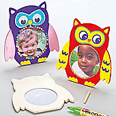 Owl Wooden Photo Frames (Pack of 3)