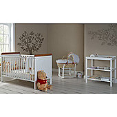 Obaby Winnie the Pooh Cot Bed and Changer Room Set