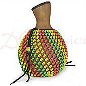 World Rhythm Fibreglass Shekere - Jamaican Style