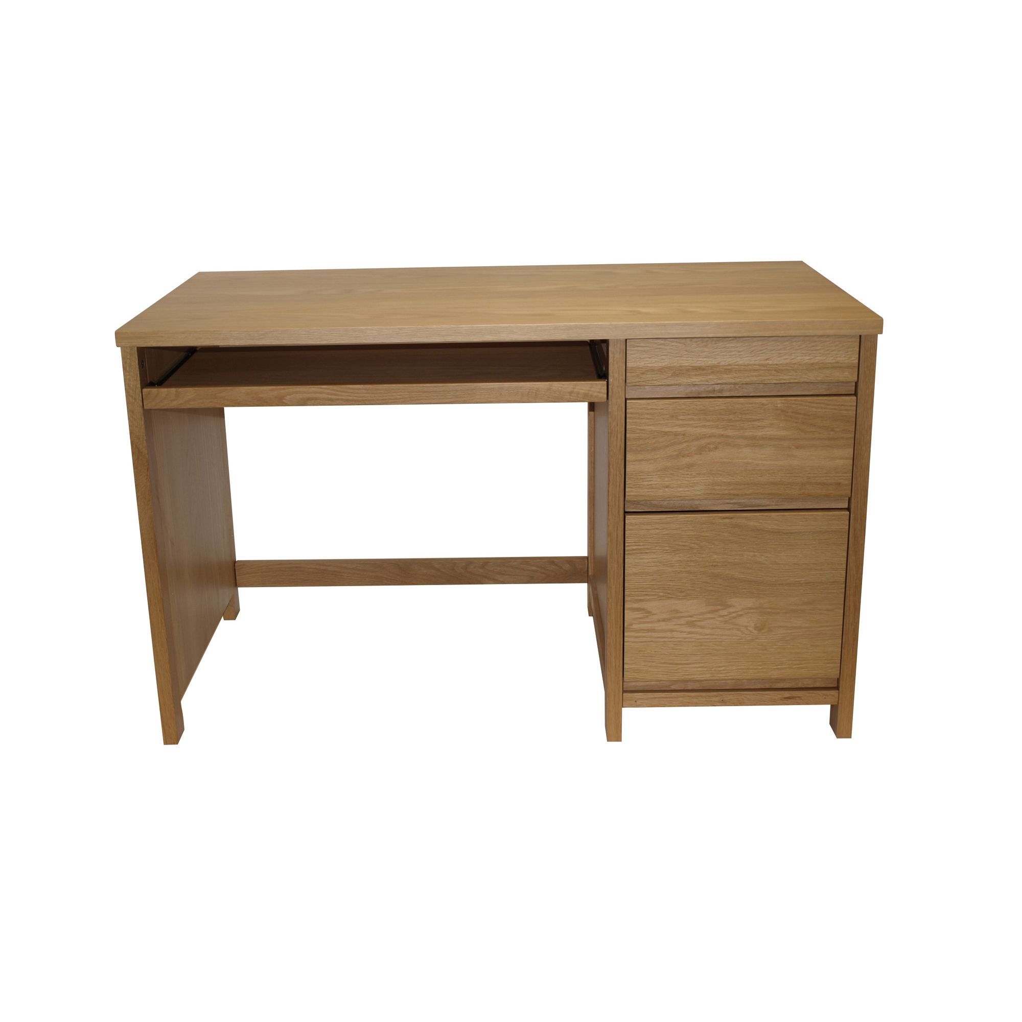 Alphason Hunter Home Office Desk in Oak at Tesco Direct
