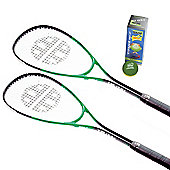 Unsquashable Improver Junior Racket set
