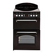 Leisure CLA60CEK 600mm Fan Assisted Double Oven in Black
