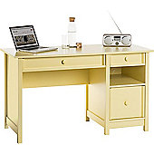 DSK Melon Yellow Home Office Cottage Desk