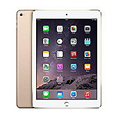 Apple iPad Air 2, 32GB with Wi-Fi + Cellular for Apple SIM - Gold