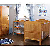 Obaby Beverley 3 Piece Furniture Set - Country Pine