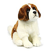 Anna Club Plush Saint Bernard Soft Toy - 28cm