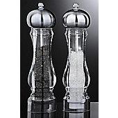 David Mason Design King Salt and Pepper Mill Set