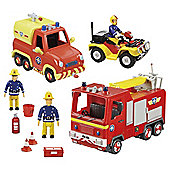 Fireman Sam Emergency Vehicle Playset