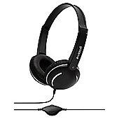 groov-e GV897BK Streetz Stereo Headphones - Black