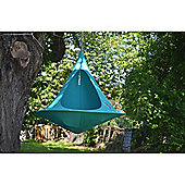 Cacoon Double Hanging Chair - Turquoise