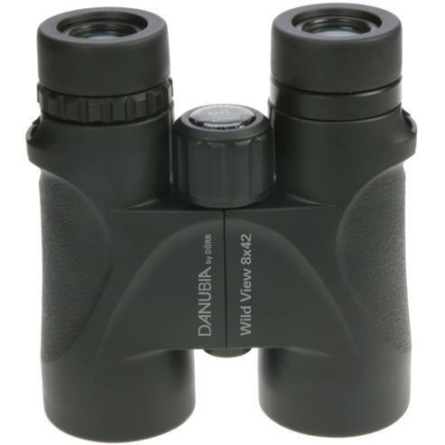 Danubia 533436 WildView 8x42 Roof Prism Binoculars