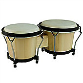 Tiger Beginners Wooden Bongo Drum Set